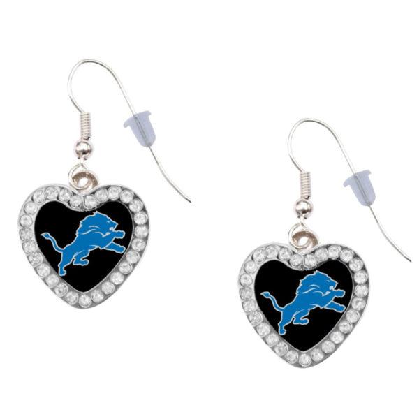 detroit-lions-heart-earrings