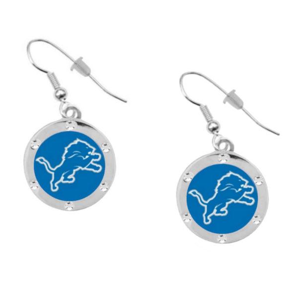 detroit-lions-psg-cryst-earrings