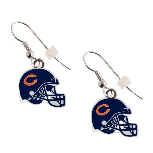 chicago-bears-helmet-earrings
