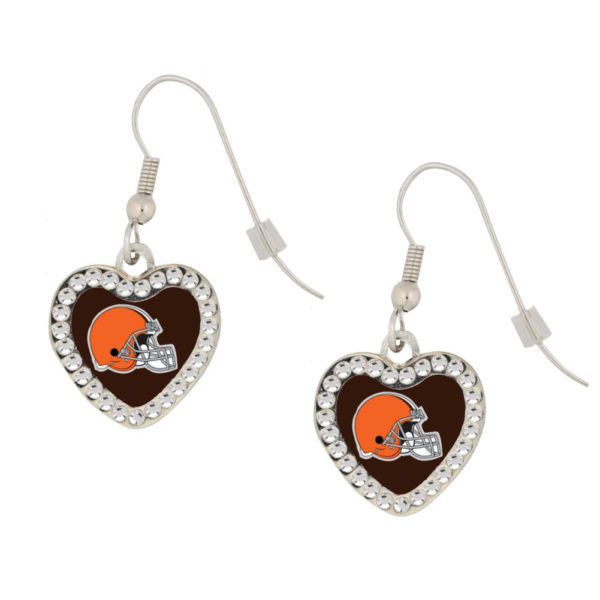 cleveland-browns-heart-earrings