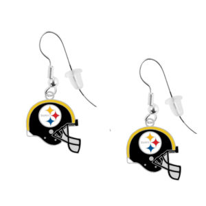 pittsburgh-steelers-helmet-earrings-pierced
