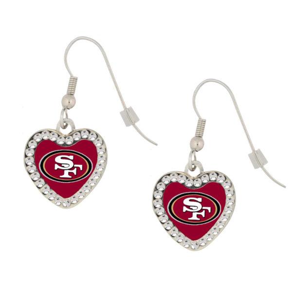 san-francisco-49ers-crystal-heart