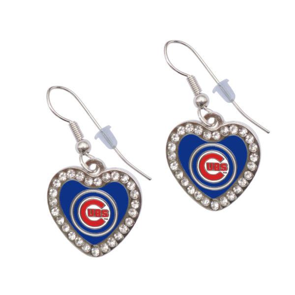 chicago-cubs-heart-earrings