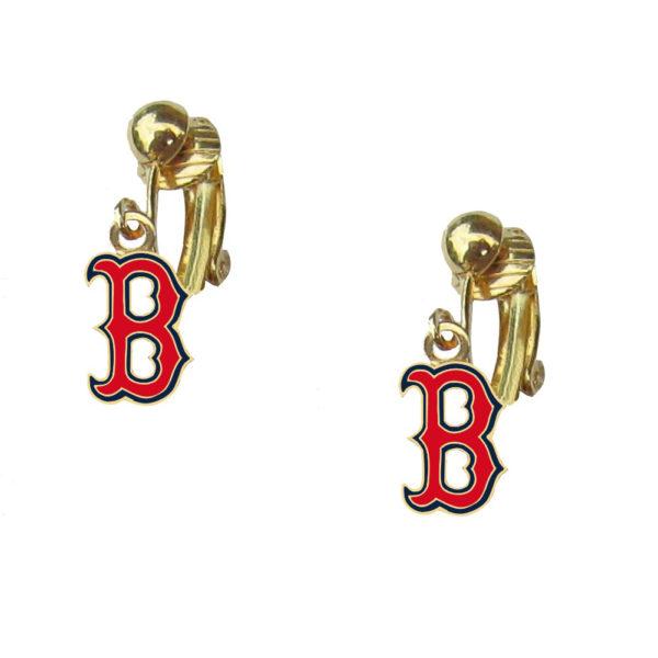 boston-red-sox-gold-b-clip-earrings