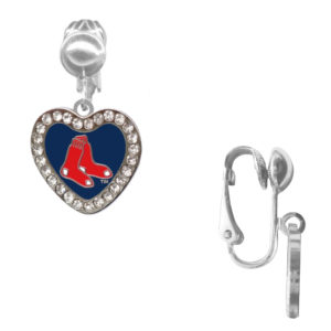 boston-red-sox-cryst-heart-clip-earrings