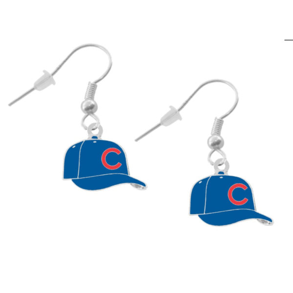 chicago-cubs-cap-earrings