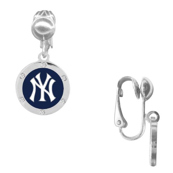 new-york-yankee-crystal-earrings-clip