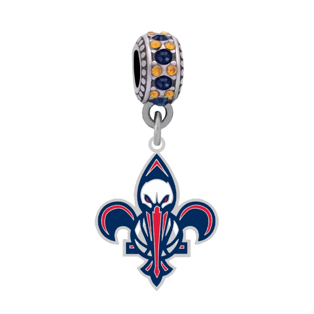 New Orleans Pelicans Logo Charm