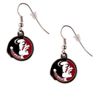 florida-state-psg-silv-logo-earrings