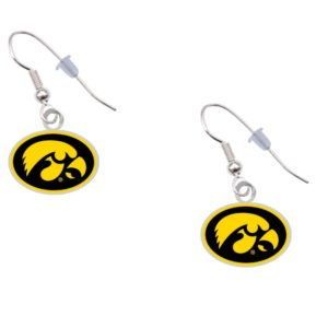 iowa-psg-silv-logo-earrings