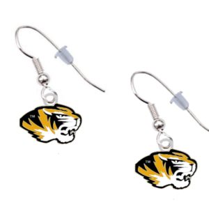 missouir-tiger-logo-earrings