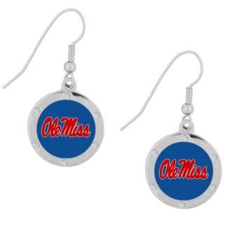 ole-miss-rhinestone-circle-earrings