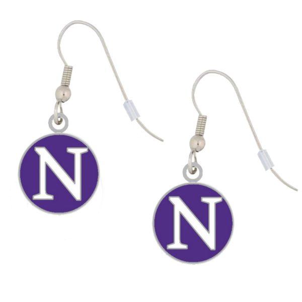 northwestern-earrings