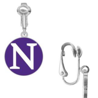 northwestern EARRINGS clip