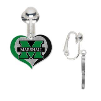 marshall swirl heart clip